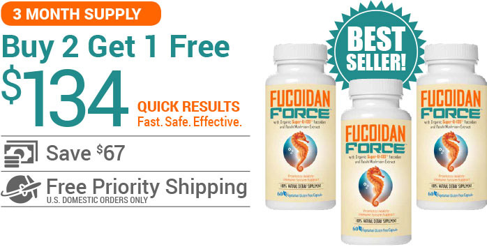 Buy Fucoidan Force - 3 Bottles