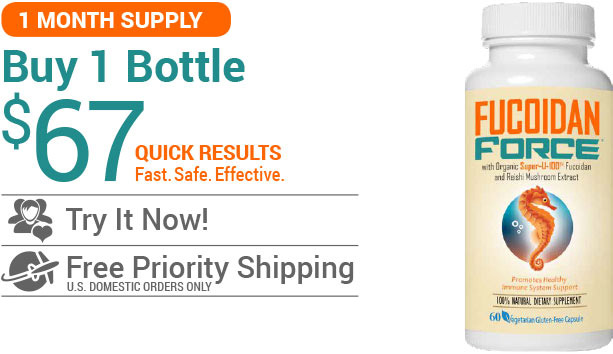 Buy Fucoidan Force - 1 Bottle