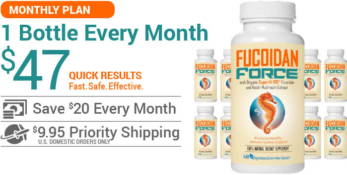 Buy Fucoidan Force - Monthly Plan