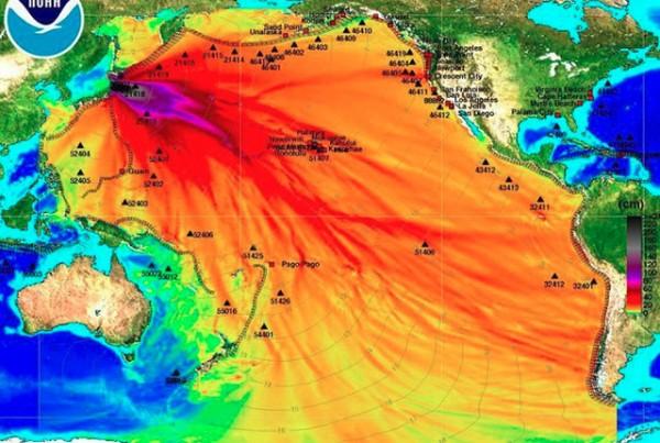 Fukoshima Radiation Pacific Ocean